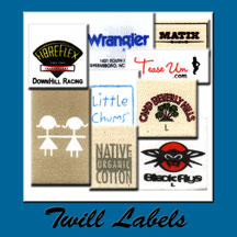 Twill Labels